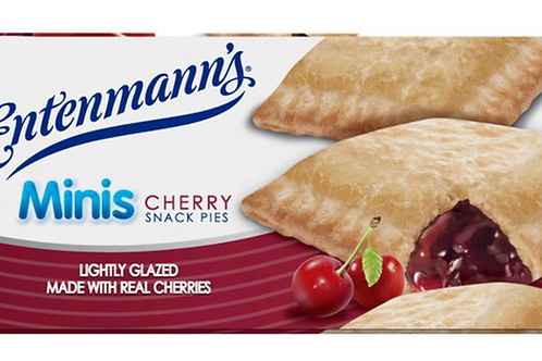Parve Entenmann's mini cherry snack pie