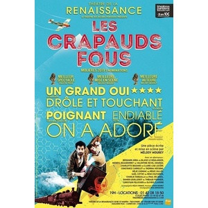 spectacle les crapauds fous