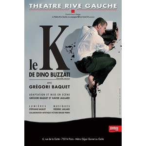 spectacle Le K grégori baquet