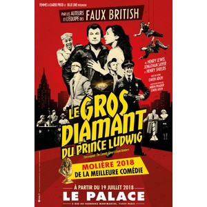 spectacle le gros diamant du Prince Ludwig
