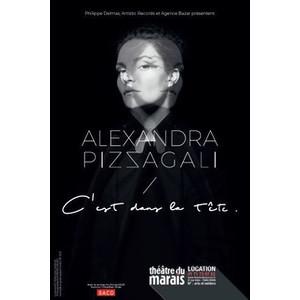 """Alexandra Pizzagali dans """"C'est dans la tête"""""""
