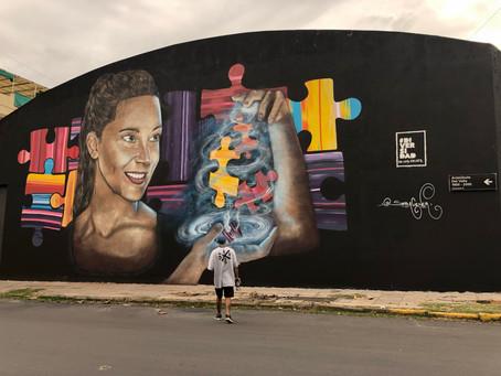 Un mural para generar conciencia sobre el autismo