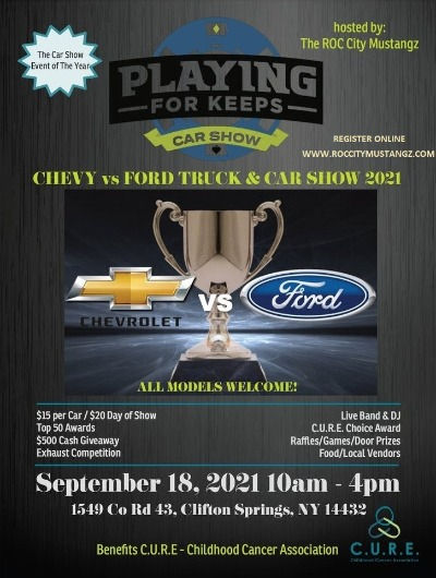 Playing for Keeps Car Show 2021