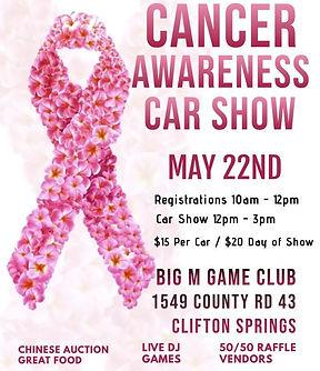 Cancer Awareness Car Show