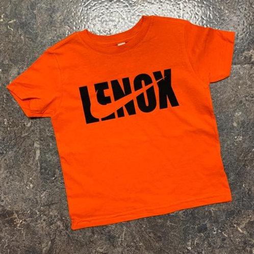 Lenox Swoosh Orange Tee