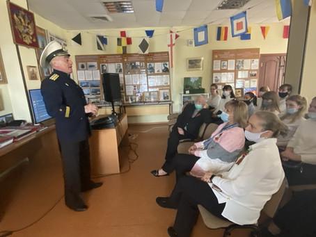 Экскурсия в музей ветеранов военно-морского флота РФ