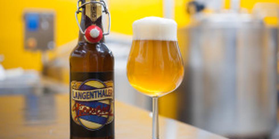 Friday Space Beer mit der Langenthaler Bierbrauerei