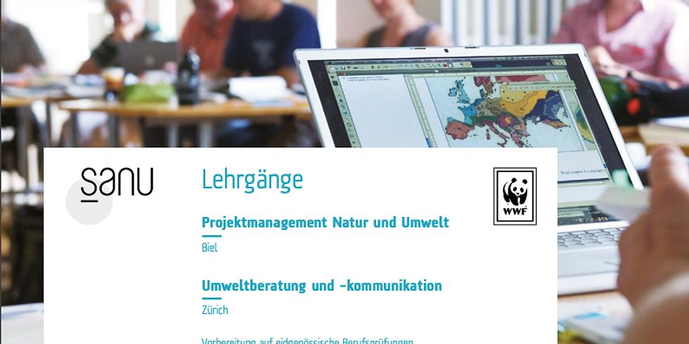 Infoabend Lehrgänge Natur und Umwelt