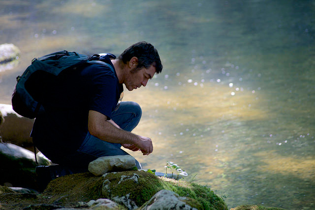 Impression aus dem CAS Naturbezogene Umweltbildung (Bild: Roger Sommerhalder © Silviva)