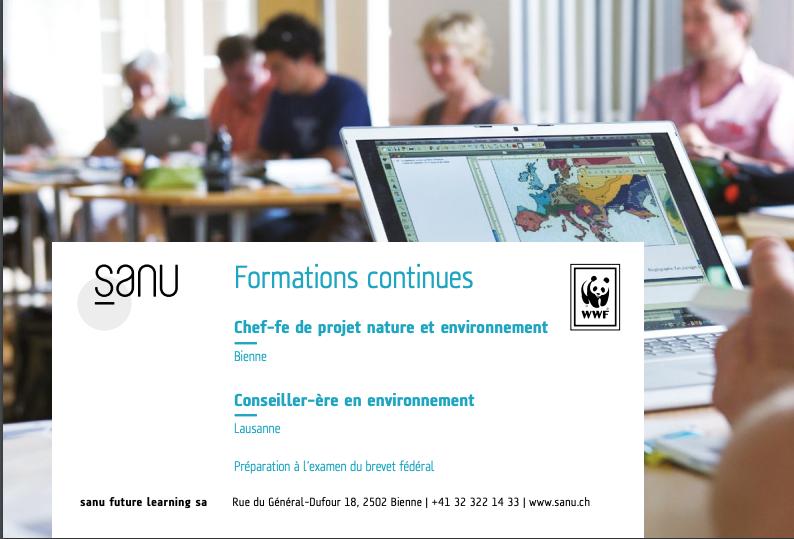 Soirées d'informations «Chef-fe de projet nature et environnement» et «Conseiller-ère en environnement» (1)