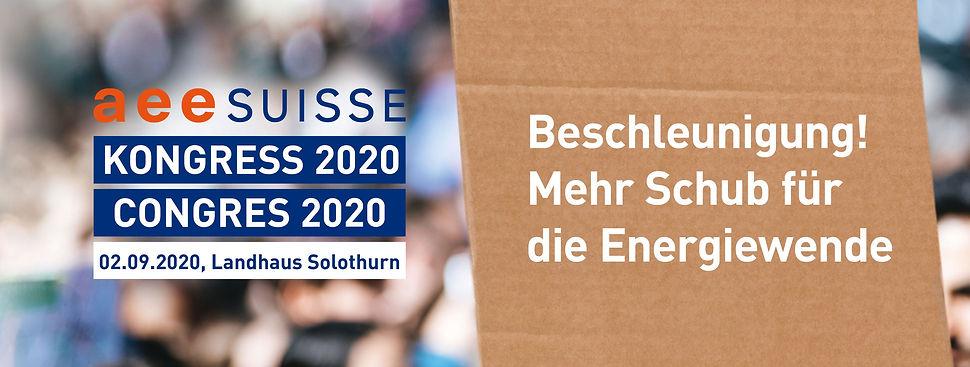 aee SUISSE Kongress 2020