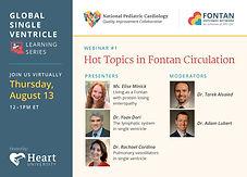 Hot topics in Fontan circulation