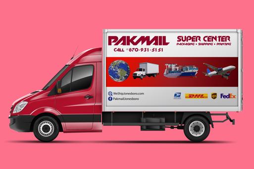 Pakmail Truck Design
