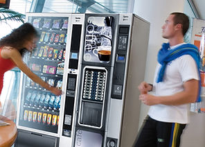 Snack and drink vending machines