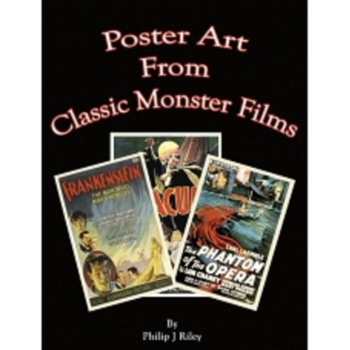 Poster Art From Classic Monster Films