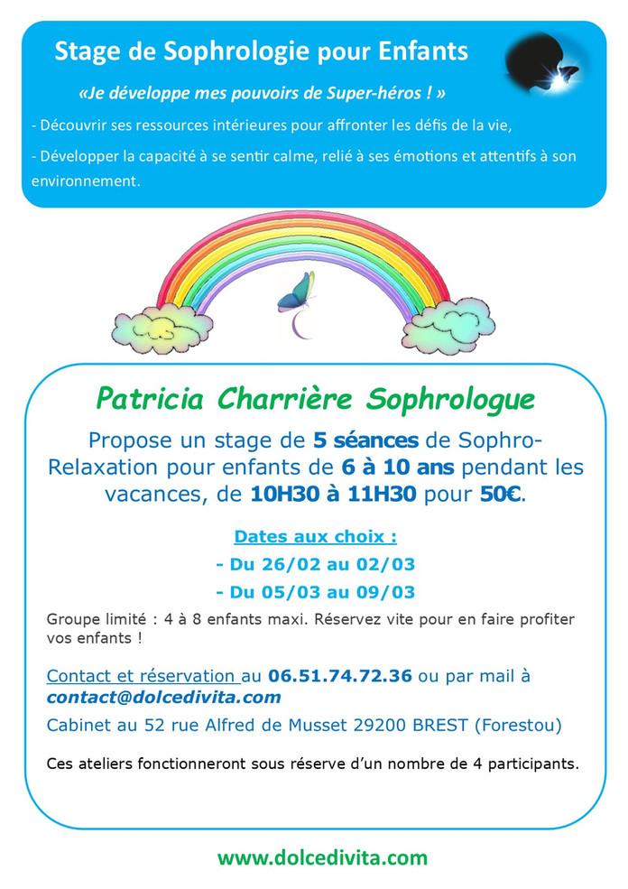 Stage Sophrologie Enfant