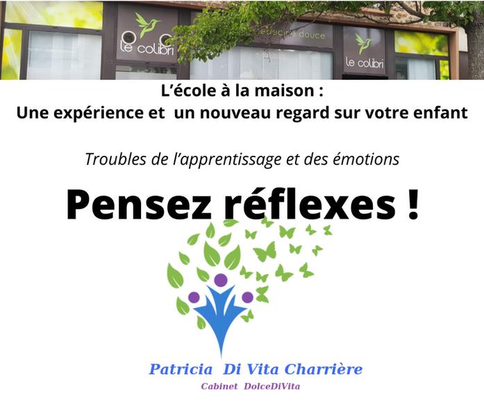 Troubles de l'apprentissage et des émotions ... Pensez Réflexes !