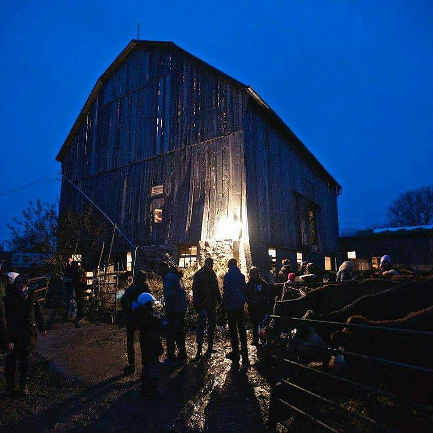 Paint Night in Barn