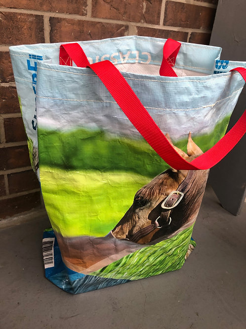 Upcycled Horse Feed Bags