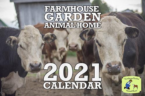 2021 Sanctuary Calendar