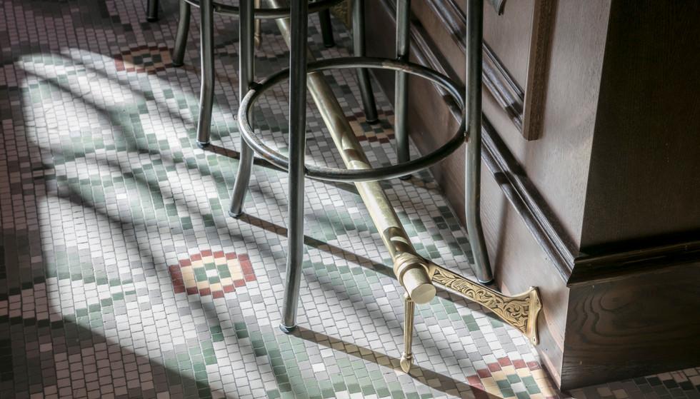 Original 1914 Tile Flooring