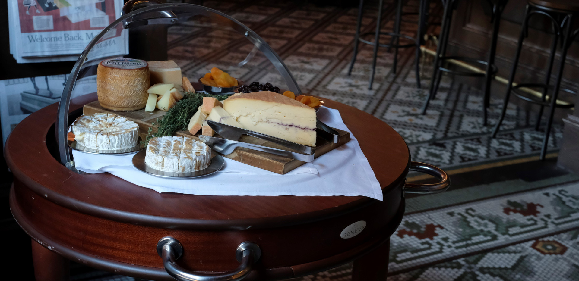 Rolling Mertens Cheese Cart