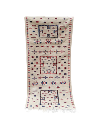 R27 -6.8x3.7ft- Amazing Moroccan Tribal Berber Rug