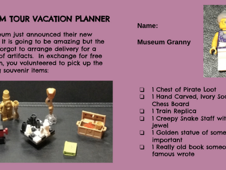 LEGO Vacation Game