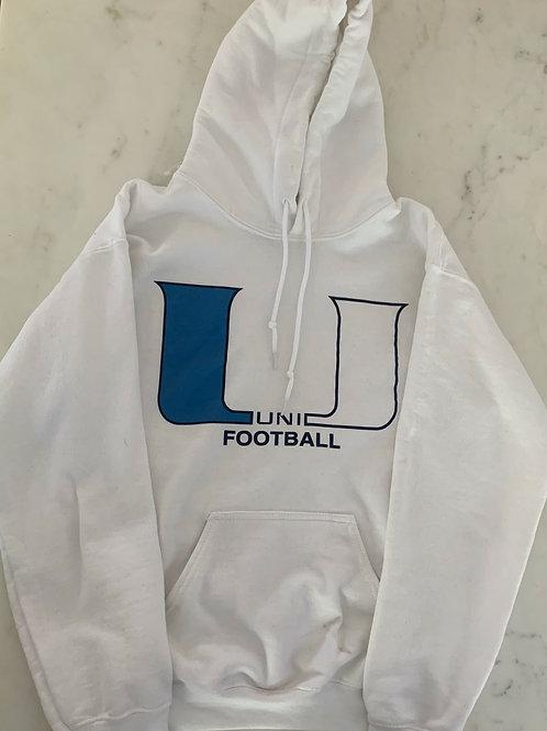 UNI Football Logo Hoodie