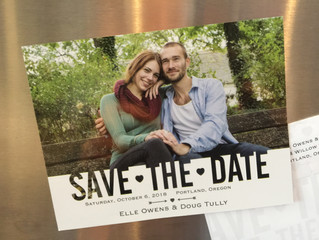 "NEW Magnetic ""Save the Date""!"