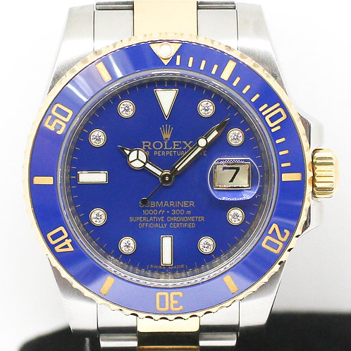 Rolex Submariner (116613LB) *Serti Diamond