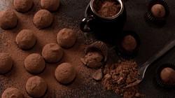 Boulettes chocolat noir