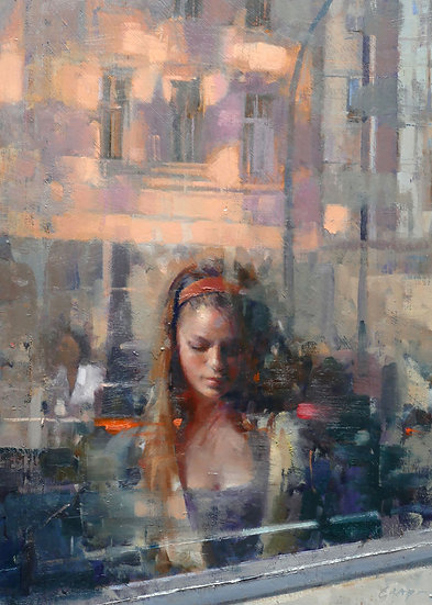 'Inner City Reflection'  by Douglas Gray Artist
