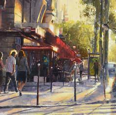 Getting late, Paris.