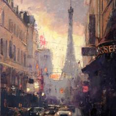 Christmas Lights Paris - SOLD
