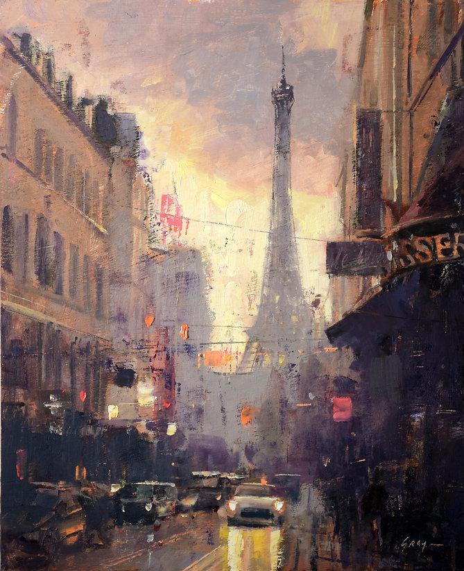 Douglas Gray Artist Christmas Lights Par
