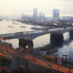 Waterloo Bridge from the Savoy
