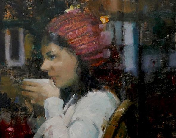 Double Espresso Detail 3 by Douglas Gray