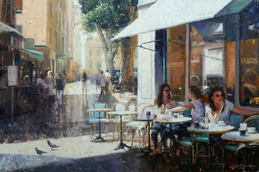'Ladies at Lunch' by Douglas Gray Artist