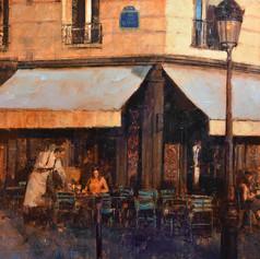 Cafe St Regis, Paris - SOLD