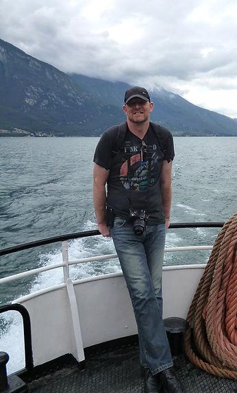 Douglas Gray Artist Lake Garda, Italy