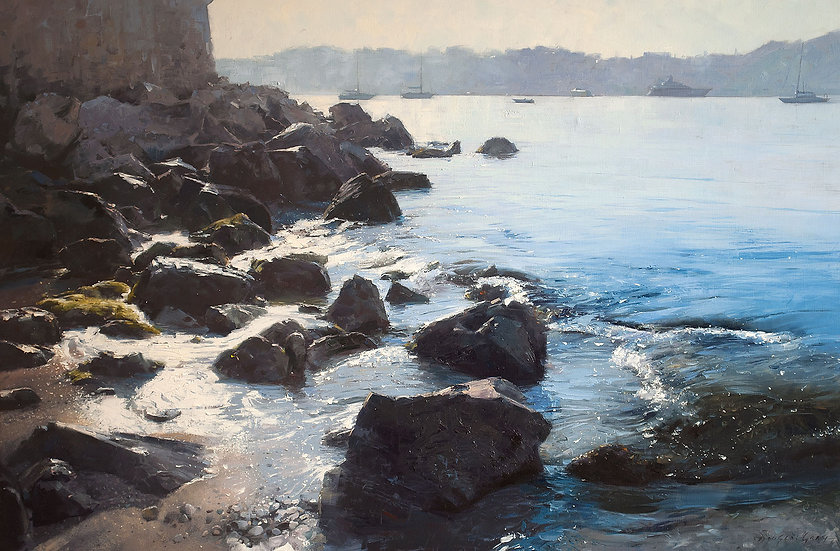 'Villefranche-Sur-Mer' by Douglas Gray Artist