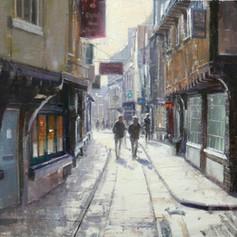 After Rain,The Shambles, York