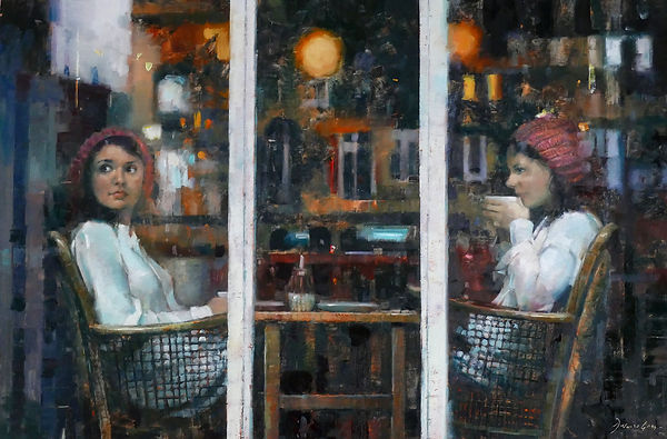 Double Espresso by Douglas Gray Artist