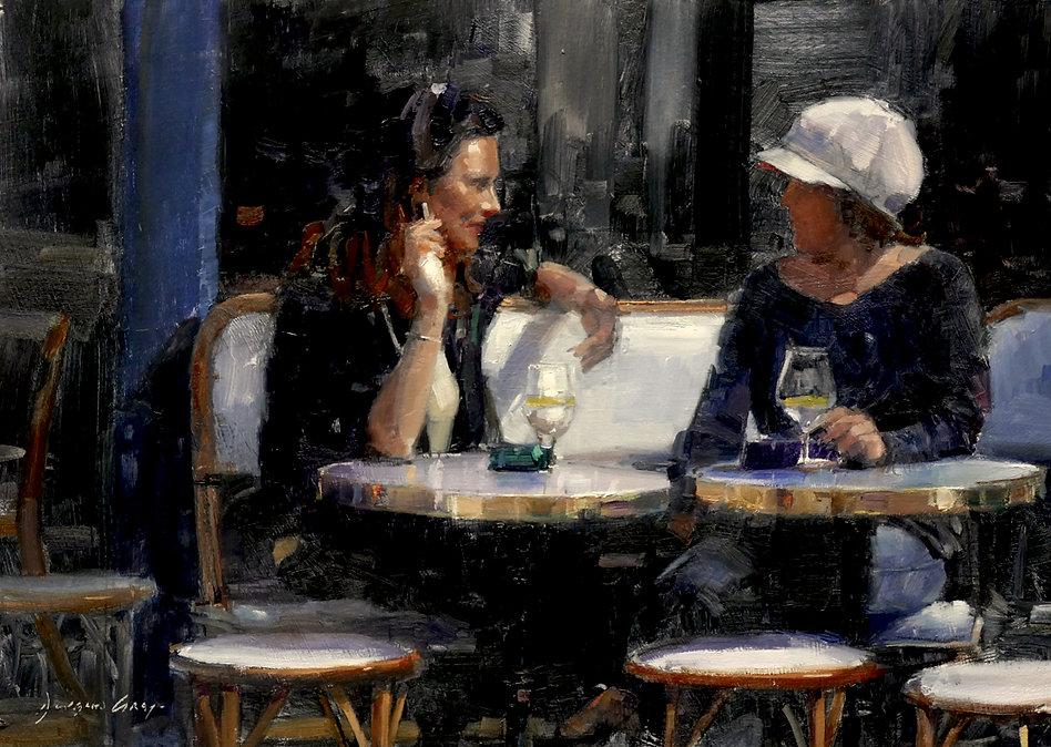 Gin & Tonics Montmartre by Douglas Gray