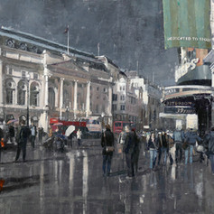 Sun after Rain Piccadilly, London