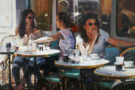 Ladies at Lunch (detail) Douglas Gray Artist