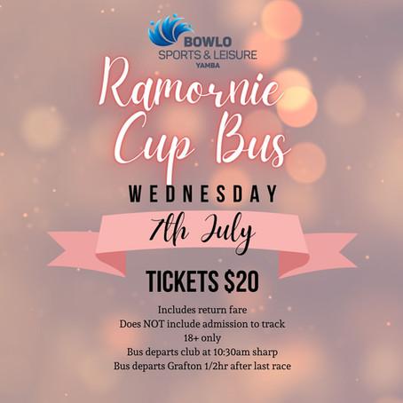 RAMORNIE CUP BUS - 7th July