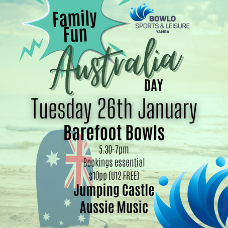 AUSTRALIA DAY - 26th January