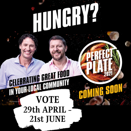 PERFECT PLATE COMPETITION - 29th April - 21st June
